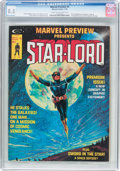 Magazines:Science-Fiction, Marvel Preview #4 Star-Lord (Marvel, 1976) CGC VF+ 8.5 Cream tooff-white pages....