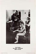 "Music Memorabilia:Posters, Beatles - ""Hey Jude/Revolution"" Apple Records Promotional Poster(Apple R 5722, 1968). ..."