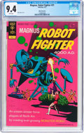 Bronze Age (1970-1979):Science Fiction, Magnus Robot Fighter #31 White Mountain Pedigree (Gold Key, 1972) CGC NM 9.4 White pages....