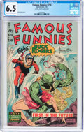 Golden Age (1938-1955):Science Fiction, Famous Funnies #210 Frank Frazetta Copy (Eastern Color, 1954) CGCFN+ 6.5 Cream to off-white pages....