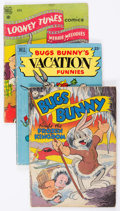Golden Age (1938-1955):Cartoon Character, Looney Tunes-Related Comics Group of 17 (Dell, 1940s-60s) Condition: Average GD.... (Total: 17 Comic Books)