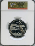 Modern Bullion Coins, 2015 25C Bombay Hook Five Ounce Silver, Early Releases MS69 Deep Mirror Prooflike NGC. PCGS Population: ...