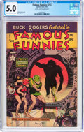 Golden Age (1938-1955):Science Fiction, Famous Funnies #213 Frank Frazetta Copy (Eastern Color, 1954) CGCVG/FN 5.0 Cream to off-white pages....