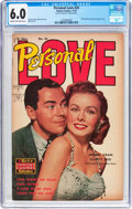 Golden Age (1938-1955):Romance, Personal Love #24 Frank Frazetta Copy (Famous Funnies Publications,1953) CGC FN 6.0 Cream to off-white pages....