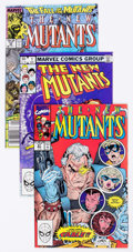 Modern Age (1980-Present):Superhero, The New Mutants Group of 13 (Marvel, 1983-90) Condition: AverageFN.... (Total: 13 Comic Books)