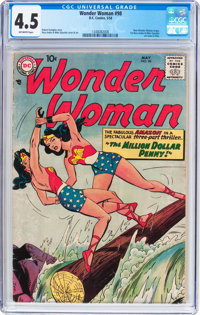 Wonder Woman #98 (DC, 1958) CGC VG+ 4.5 Off-white pages