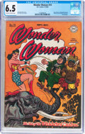 Golden Age (1938-1955):Superhero, Wonder Woman #19 (DC, 1946) CGC FN+ 6.5 Off-white to whitepages....