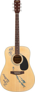 Musical Instruments:Acoustic Guitars, The Band Signed Hohner Guitar....
