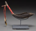 American Indian Art:Pipes, Tools, and Weapons, A Sioux Buffalo Horn Spoon ...