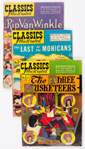 Golden Age (1938-1955):Classics Illustrated, Classics Illustrated Group of 12 (Gilberton, 1946-53) Condition:Average VG.... (Total: 12 Comic Books)