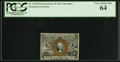 Fractional Currency:Second Issue, Fr. 1232SP 5¢ Second Issue Narrow Margin Face PCGS Very Choice New 64.. ...
