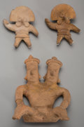 Pre-Columbian:Ceramics, Three Colima Figures ... (Total: 3 Items)