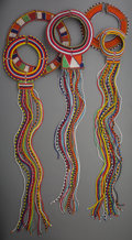 Tribal Art, A Fourteen-Piece African and Eastern Jewelry Group including Maasaiand Zulu Beadwork... (Total: 14 Items)