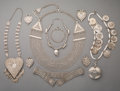 Tribal Art, An Ten-Piece Asian and Eastern Jewelry Group... (Total: 10 Items)