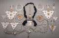 Other, A Nineteen-Piece Tibetan Jewelry Group... (Total: 19 Items)