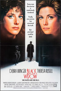 """Black Widow & Others Lot (20th Century Fox, 1987). One Sheets (3) (27"""" X 41""""). Thriller. ... (Total: 3 Ite..."""