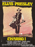 "Movie Posters:Elvis Presley, Charro! (National General, 1970). French Affiche (22.5"" X 30.5"").Elvis Presley.. ..."