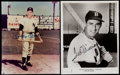 Autographs:Photos, Mickey Mantle & Ted Williams Signed Photographs (2). ...