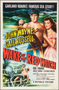 """Movie Posters:Adventure, Wake of the Red Witch (Republic, 1949). One Sheet (27"""" X 41"""").Adventure.. ..."""