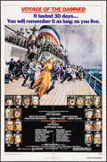 """Movie Posters:Drama, Voyage of the Damned (Avco Embassy, 1976). One Sheets (2) (27"""" X 41"""") 2 Styles. Drama.. ... (Total: 2 Items)"""