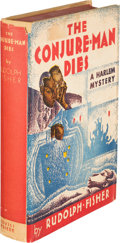 Books:Mystery & Detective Fiction, Rudolph Fisher. The Conjure-Man Dies. A Mystery Tale ofDark Harlem. New York: Covici-Friede, [1932]. First edit...