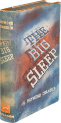 Books:Mystery & Detective Fiction, Raymond Chandler. The Big Sleep. New York: Alfred A. Knopf,1939. First edition....