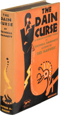 Books:Mystery & Detective Fiction, Dashiell Hammett. The Dain Curse. New York: Alfred A. Knopf, 1929. First edition of Hammett's second book, the final Contine...