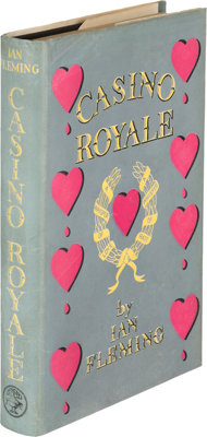 Ian Fleming. Casino Royale. London: Jonathan Cape, [1953]. First edition, dust jacket artist Ke