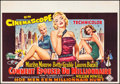 """Movie Posters:Comedy, How to Marry a Millionaire (20th Century Fox, 1954). Belgian (14.5""""X 21""""). Comedy.. ..."""