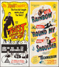 "Movie Posters:Rock and Roll, Twist Around the Clock & Others Lot (Columbia, 1961).Australian Daybills (3) (13.25"" X 30"" & 13"" X 30""). Rock andRoll.. ... (Total: 3 Items)"