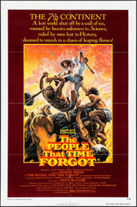"The People That Time Forgot (American International, 1977). One Sheet (27"" X 41""). Science Fiction"