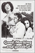 "Movie Posters:Sexploitation, Good Morning...and Goodbye! (Eve Productions, 1967). One Sheet (27""X 41""). Sexploitation.. ..."