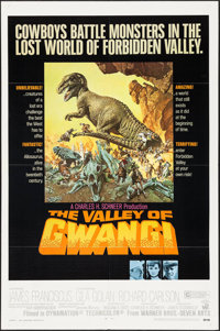 """The Valley of Gwangi (Warner Brothers, 1969). One Sheet (27"""" X 41""""). Science Fiction"""