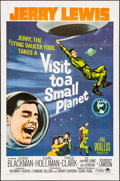 "Movie Posters:Comedy, Visit to a Small Planet (Paramount, R-1966). One Sheet (27"" X 41""). Comedy.. ..."
