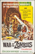 """Movie Posters:Horror, War of the Zombies (American International, 1965). One Sheet (27"""" X 41""""). Horror.. ..."""