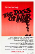 """Movie Posters:War, The Dogs of War & Other Lot (United Artists, 1981). One Sheets(2) (27"""" X 41"""") Advance & International & Lobby Card (11"""" X1... (Total: 3 Items)"""