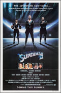 "Movie Posters:Action, Superman II (Warner Brothers, 1981). One Sheet (27"" X 41"") TeaserStyle. Action.. ..."
