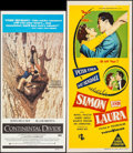 "Movie Posters:Comedy, Continental Divide & Others Lot (Universal, 1981). Australian Daybills (3) (13"" X 28"" & 13.25"" X 30""). Comedy.. ... (Total: 3 Items)"