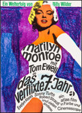 """Movie Posters:Comedy, The Seven Year Itch (Atlas, R-1966). German A1 (23.25"""" X 33"""").Comedy.. ..."""