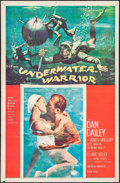 "Movie Posters:Adventure, Underwater Warrior & Other Lot (MGM, 1958). One Sheets (2) (27""X 41""). Adventure.. ... (Total: 2 Items)"