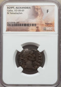 Ancients:Roman Provincial , Ancients: EGYPT. Alexandria. Galba (June AD 68-Jan. 69). BItetradrachm. NGC Fine....