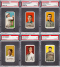Baseball Cards:Lots, 1909-11 T206 White Borders PSA EX 5 Collection (6) - With FiveHoFers. ...