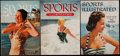 "Miscellaneous Collectibles:General, 1954-57 ""Sports Illustrated"" Magazine Trio (3)...."