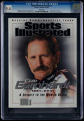 "Miscellaneous Collectibles:General, 2001 Dale Earnhardt ""Sports Illustrated"" Magazine CGC 9.4 - NoneHigher...."