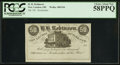 Obsoletes By State:Ohio, New London, OH - H.H. Robinson 50 Cents 185_ Remainder Wolka1869-04. ...