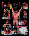 Autographs:Others, Ultimate Warrior Signed Oversized Photograph. ...