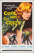 """Movie Posters:Bad Girl, The Cool and the Crazy (American International, 1958). One Sheet(27"""" X 41""""). Bad Girl.. ..."""