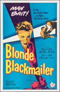 "Movie Posters:Crime, Blonde Blackmailer & Other Lot (Allied Artists, 1958). OneSheets (2) (27"" X 41""). Crime.. ... (Total: 2 Items)"