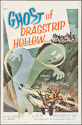 "Movie Posters:Exploitation, Ghost of Dragstrip Hollow (American International, 1959). One Sheet (27"" X 41""). Exploitation.. ..."