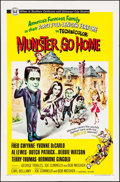 "Movie Posters:Comedy, Munster, Go Home (Universal, 1966). Autographed One Sheet (27"" X 41""). Comedy.. ..."
